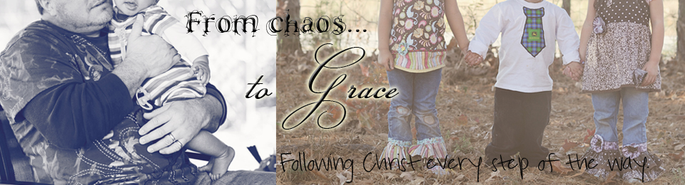 From chaos to Grace…